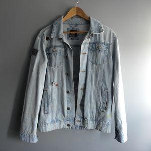 Custom Brave Soul Jean Jacket